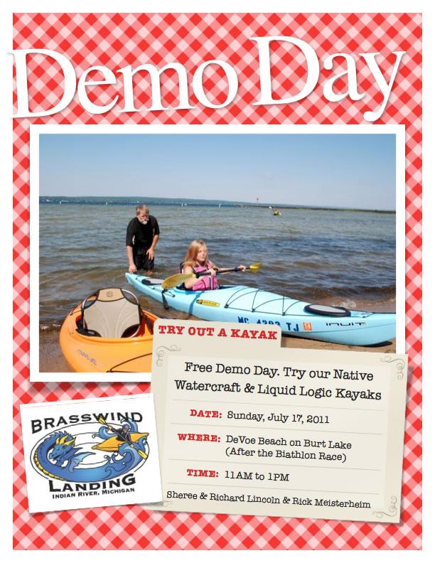 Kayak Demo at DeVoe Beach