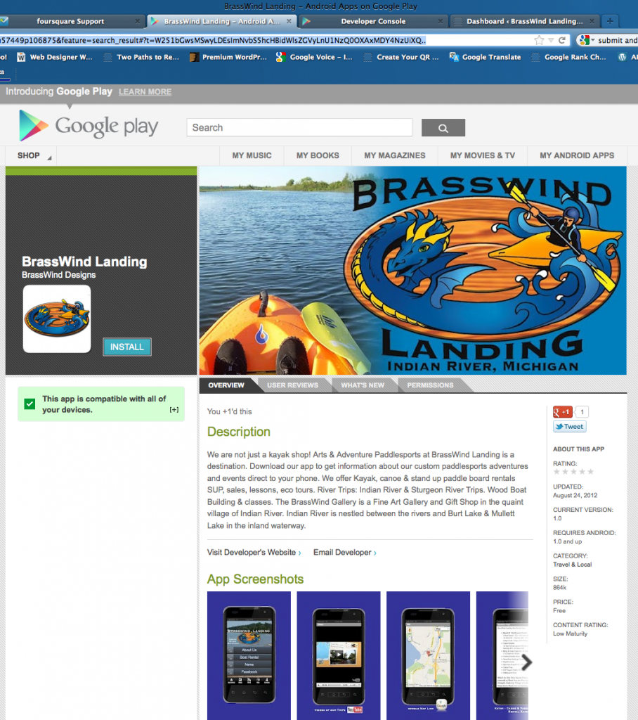 screen shot for our google play page - image