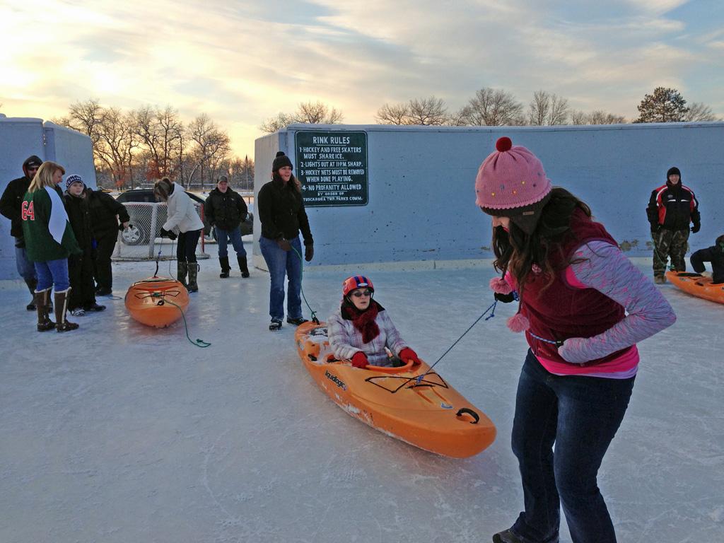 kayak-ice-derby-winterfest - image
