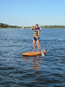 imagine surf on a lake - image