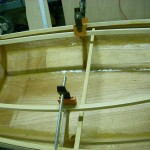 Wood Boat Under Construction