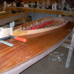 CLC kayak being built by RIchard Lincoln