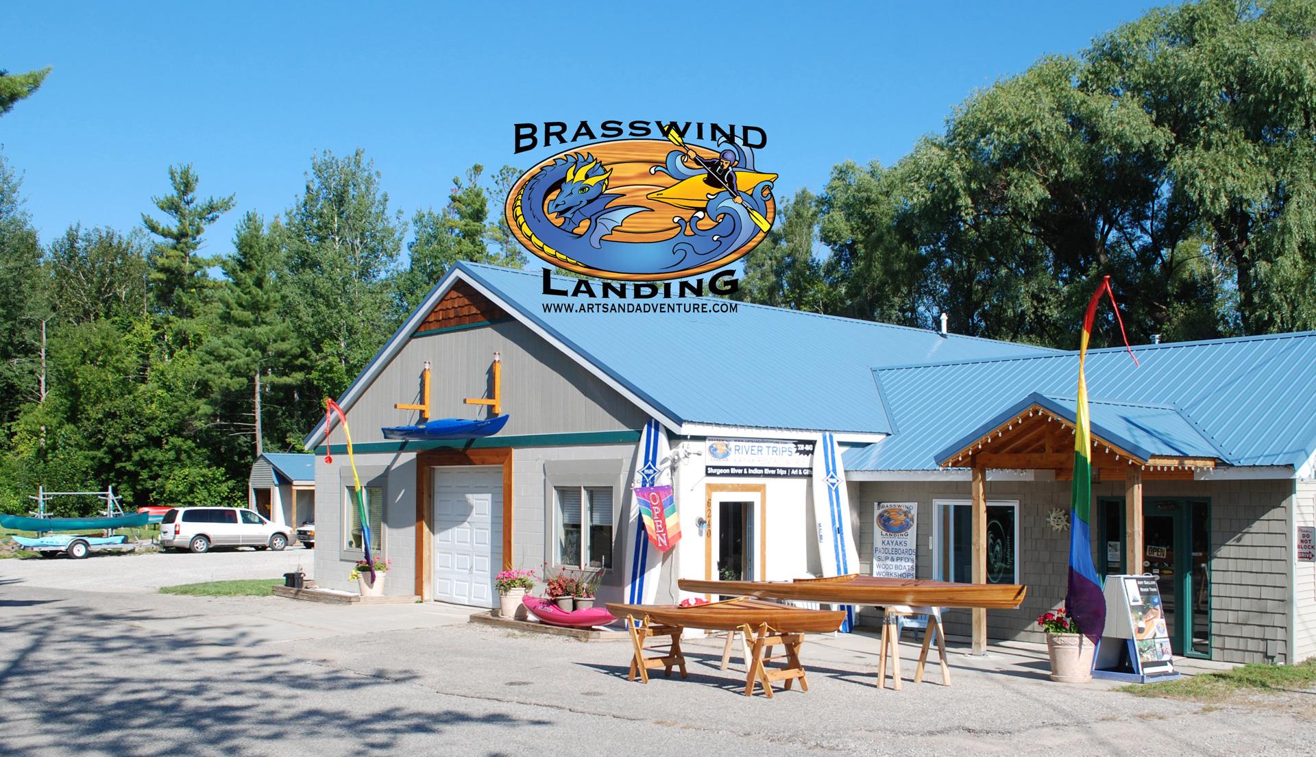brasswind landing - image