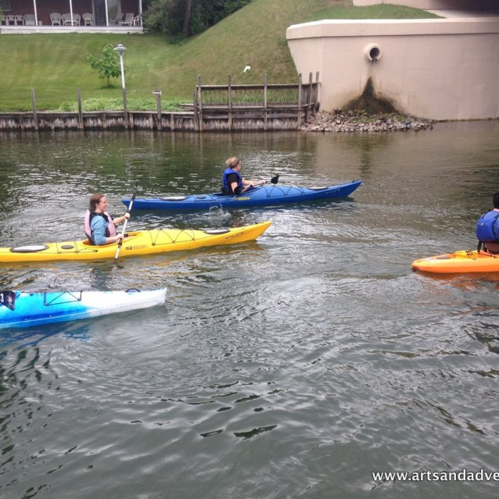 kayaks on the indian river - image